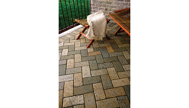 Earthstone pavers