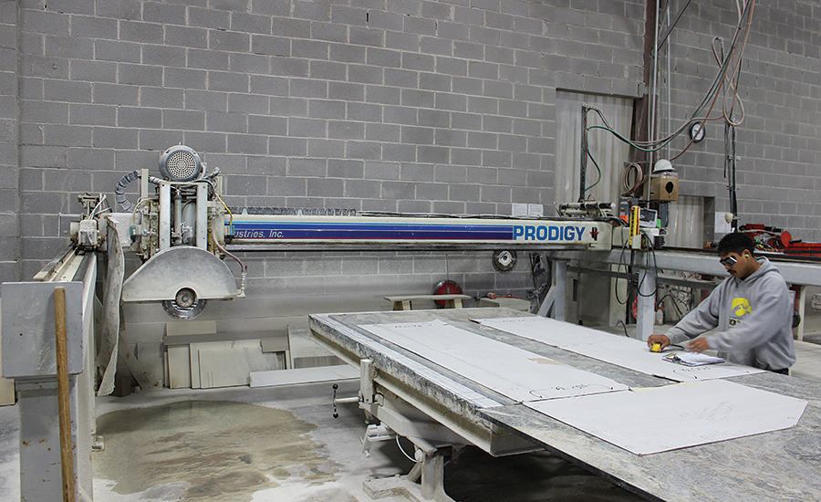 Holland Marble Co Expands From Fabricating Locally To