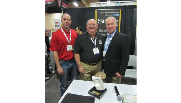 Fabricator of the Year Award recipients at StonExpo