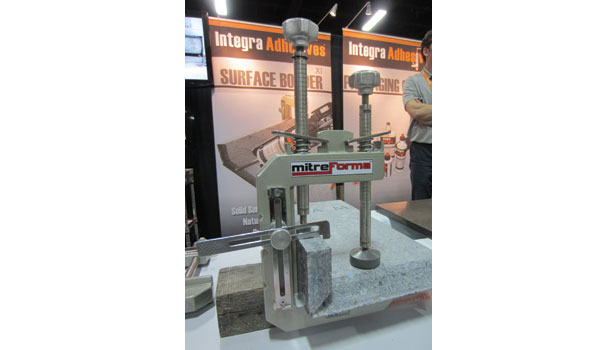 mitering device from Integra Adhesives