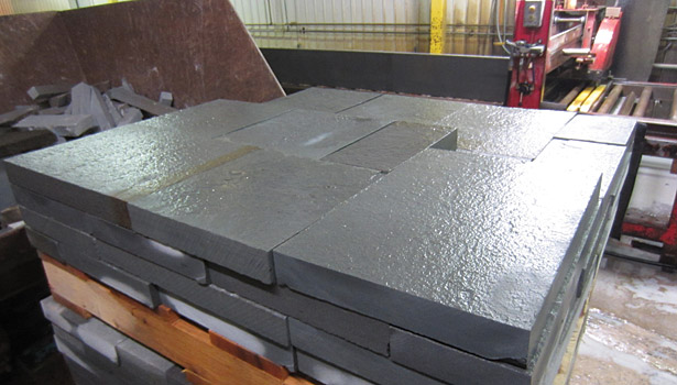 thermal finish stone