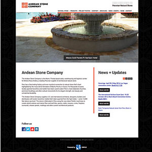 ANDEAN STONE CO.NEW  WEBSITE F