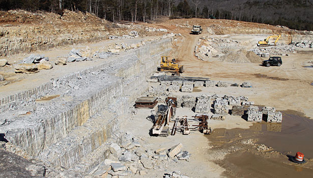 The Ozark Southern Stone quarry