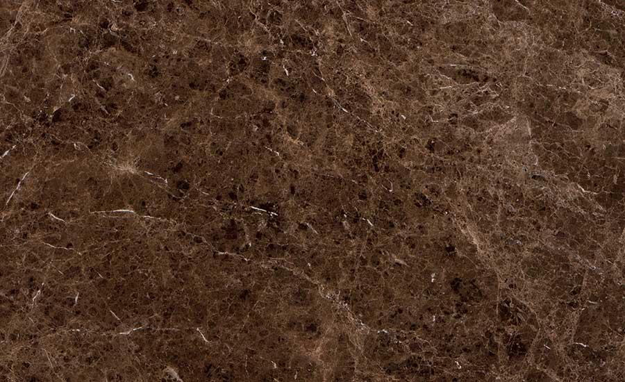 Stone of the month marr n emperador marble 2015 05 01 for Marmol marron emperador