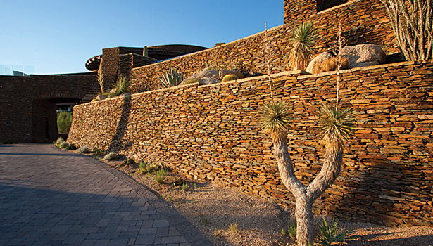 mortar wall