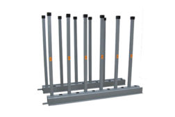 BR2.5-90 extra-long, heavy duty bundle rack