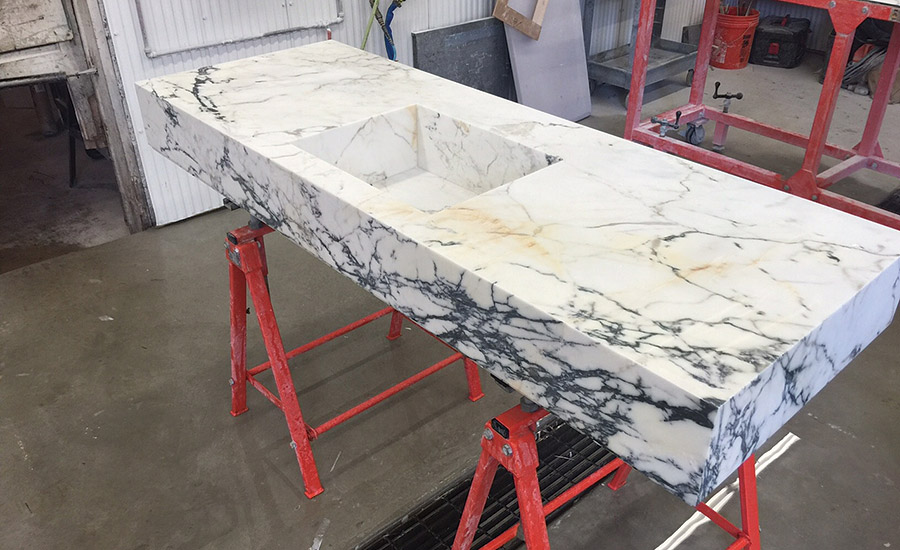 miter from Rye Marble