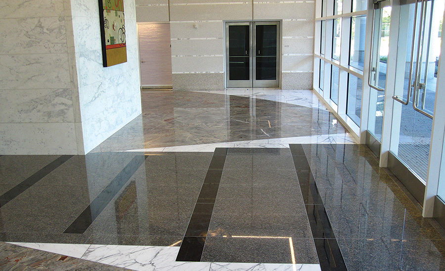 Marble And Granite From Italy Were Used