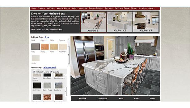 msi website - Kitchen Visualizer
