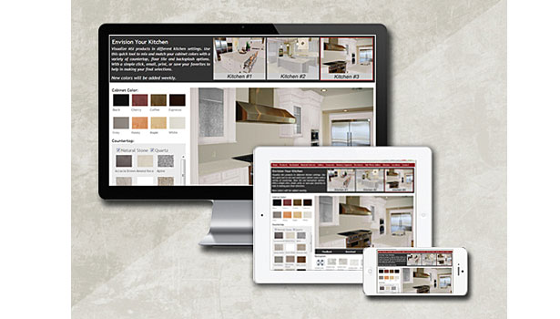 M S International, Inc  unveils its new kitchen visualizer