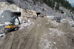 Colorado Yule marble quarry