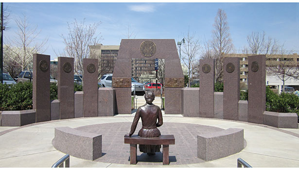 The New Veterans Memorial