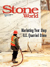 Stone World October 2015 cover