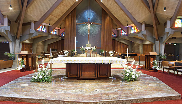A 16 Slab Altar Renovation 2012 10 01 Stone World