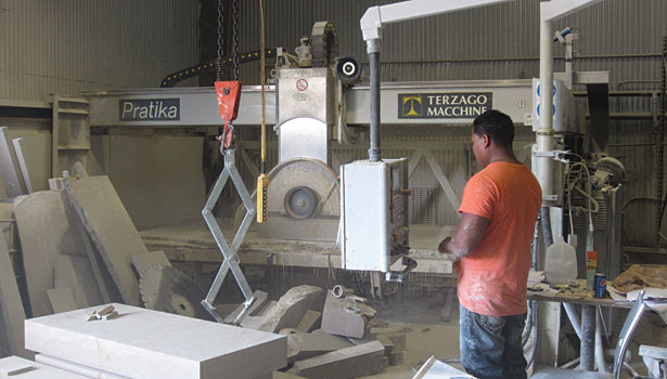 Terzago bridge saws