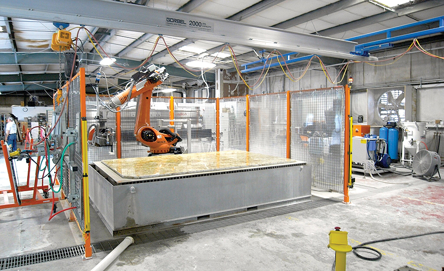 Using A Sawjet And Waterjet To Ramp Up Production 2017 09