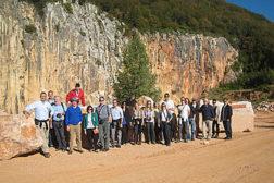 The Breccia Pernice quarry