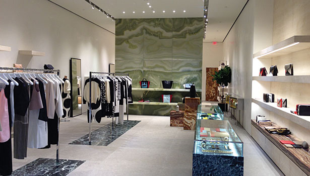 Stonework Used To Create Boutique On Rodeo Drive 2014 09