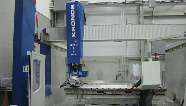 Kronos CNC 5-axis machine