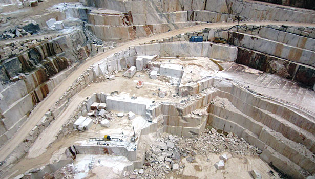 Visiting One Of Solubema S Oldest Marble Quarries 2014