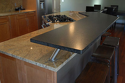 granite kitchen counters remain in fashion