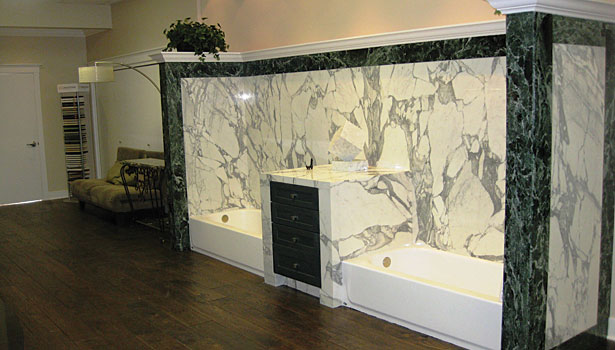 150 different types of marble, granite and onyx