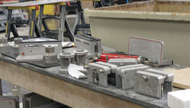 Titan CNC stoneworking center