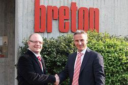 Breton promotes Gerry Van Der Bas