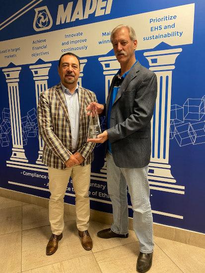 MAPEI's Ultrabond ECO® GPT hybrid adhesive wins at TISE