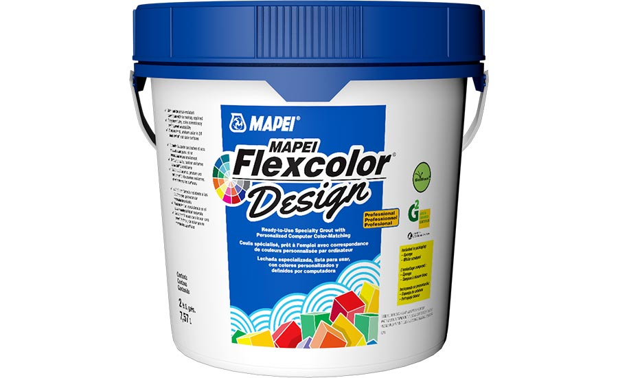 MAPEI Flexcolor Design Grout Brings Aesthetic Vision to Life