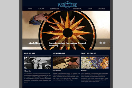 waters edge website
