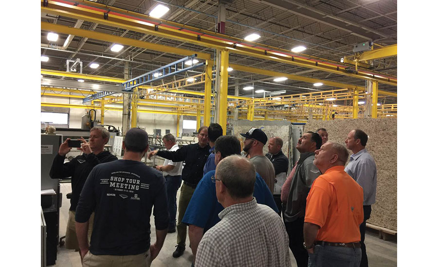 Artisan Group emphasizes best practices with combined shop tour ...