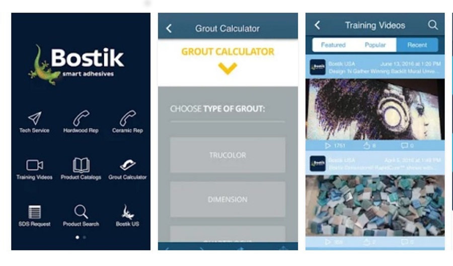 Bostik launches mobile app