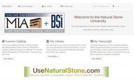 Natural Stone University