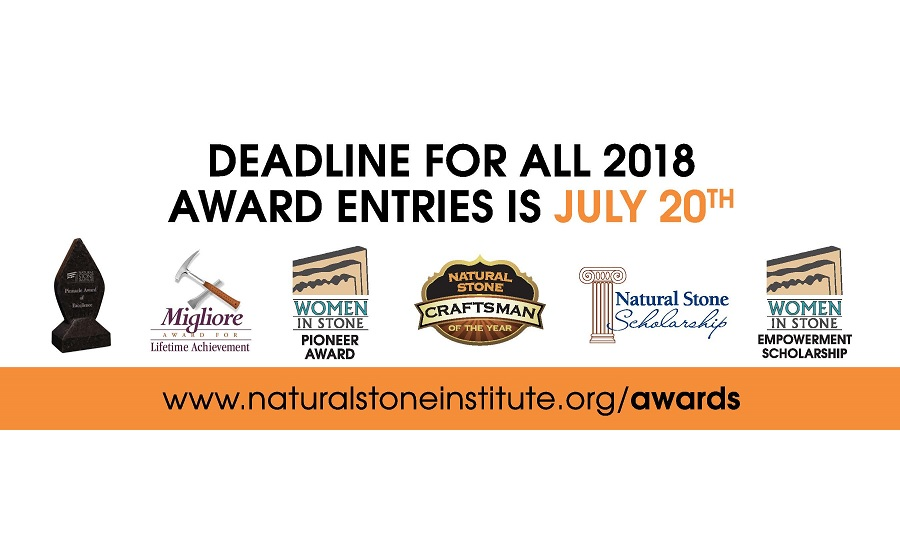 Entries for 2018 Industry Recognition Awards is Now Open