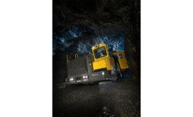 Atlas Copco's Minetruck MT65