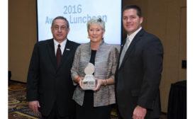 Brenda Edwards wins Women in Stone Pioneer Award