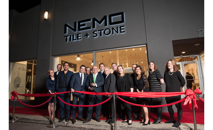 Nemo Tile + Stone opens new showroom in Red Bank, NJ
