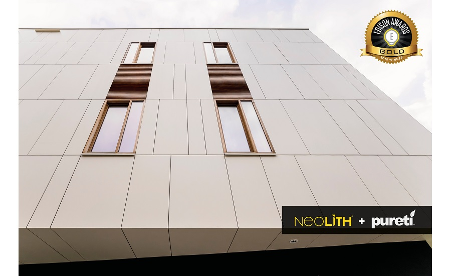 NEOLITH® + PURETi self-cleaning and sustainable facades
