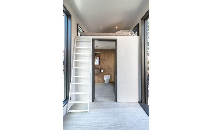 Neolith's tiny house at KBIS 10