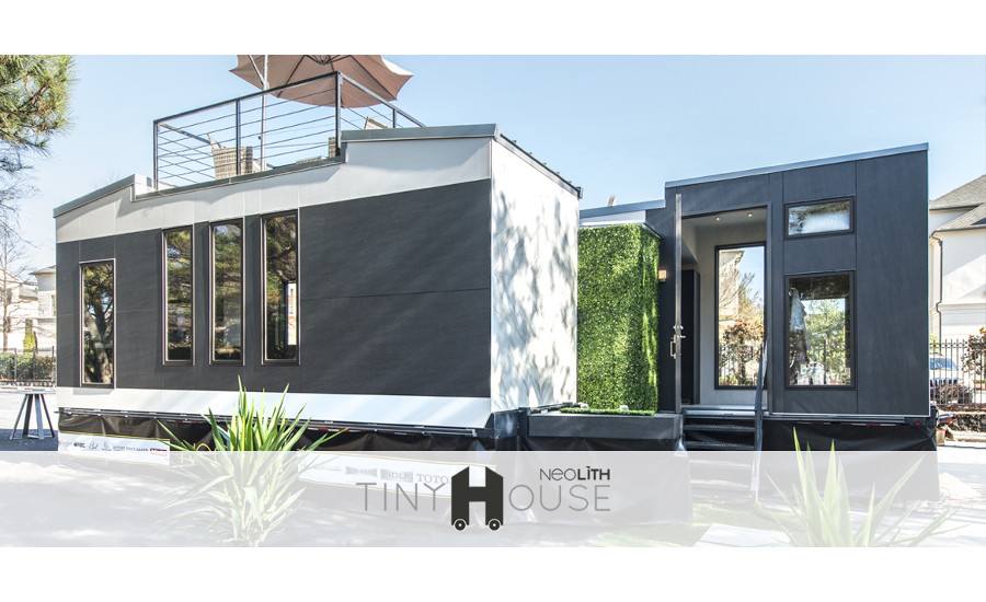 Neolith's tiny house at KBIS 12