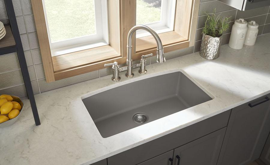 Karran Introduces Concrete Quartz Sinks