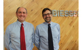 Biesse Group's Peter Magennis and Karl-Heinz (Charlie) Schulz