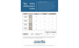 The new fact sheet from the Indiana Limestone Co.
