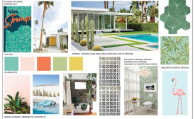 Kim Lewis' Palm Springs Home