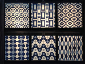Handmade cement tiles by Original Mission Tile