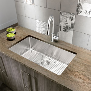 QUATRUS R15 STAINLESS STEEL KITCHEN SINK