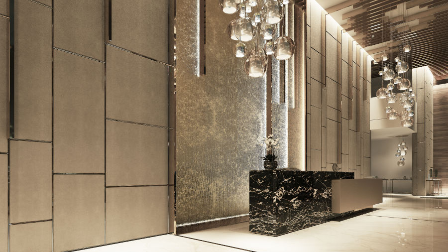 Emperador Brown marble adds to high-rise elegance | 2019-12-10 | Stone World