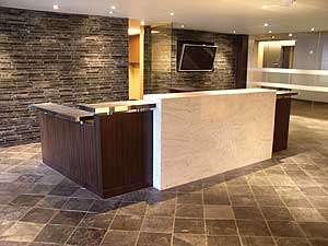 Marble Reception