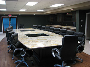 Myrtle Beach Granite And Marble Recently Completed A 24foot Long X  6footwide Granite Conference Table That